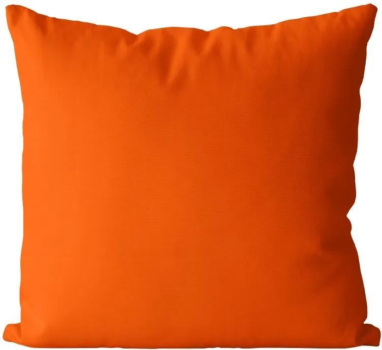 Vankúš Oranžový (Veľkosť: 40 x 40 cm)