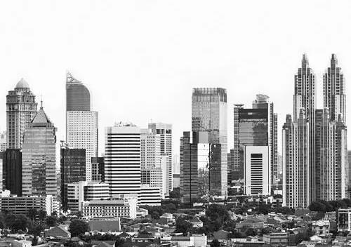 Luxusné vliesové fototapety, rozmer 325,5 cm x 270 cm, Jakarta, P+S International CL67B