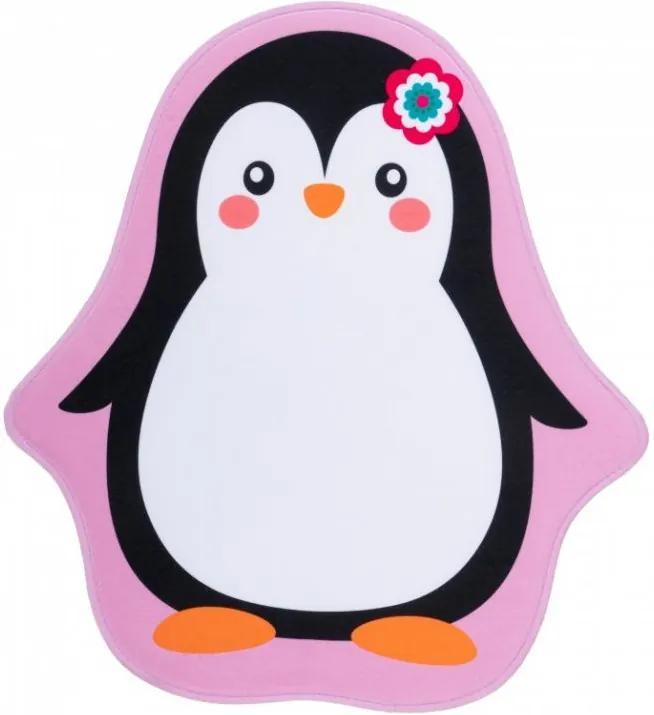Obsession koberce Dětský kusový koberec Mila kids 144 penguin - 100x100 cm