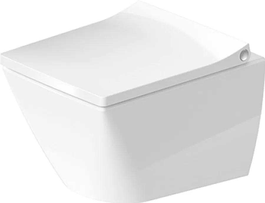 Duravit Viu - Závesné WC Compact 4,5L, Biela 2573090000