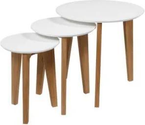 ABIN set 3 príručných stolíkov