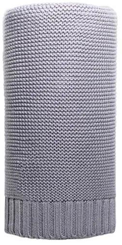 NEW BABY NB Bambusová deka Bambusová pletená deka NEW BABY 100x80 cm sivá Sivá |