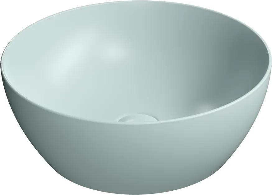 Pura 885115 umývadlo na dosku, priemer 42 cm, ghiaccio mat