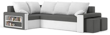 Rohová rozkladacia sedacia súprava METRO