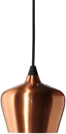 Cohen, závěsné svítidlo měděné, průměr 16 cm Frandsen lighting