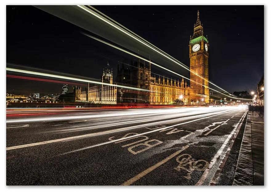 Foto obraz sklenený horizontálne Big Ben Londýn pl-osh-100x70-f-58039740