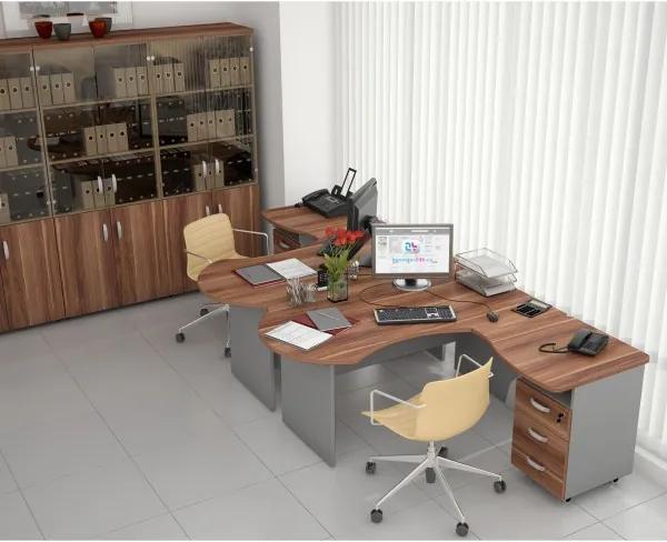 Zostava kancelárskeho nábytku Manager 2 wenge