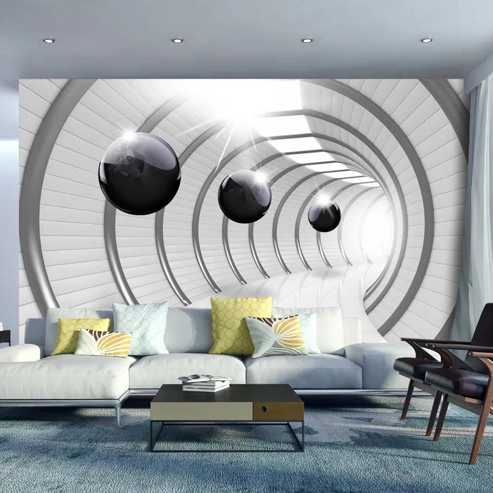 Fototapeta - Futuristic Tunnel 200x140