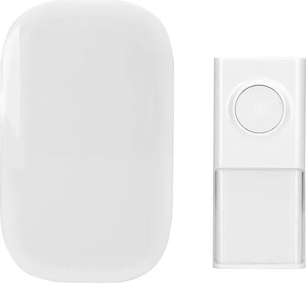 Solight Solight bezdrôtový zvonček, do zásuvky, 150m, biely, learning code