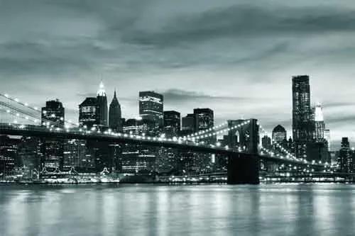 Vliesové fototapety, rozmer 312 x 219 cm, Brooklyn Bridge, IMPOL TRADE 011VE