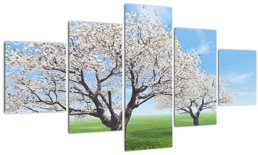 Obraz stromov (125x70 cm), 40 ďalších rozmerov