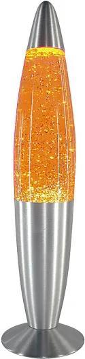 Rábalux Glitter mini 4118 Lávové Lampy žltý žltý E14 1x MAX 15W Ø86 x 347 mm