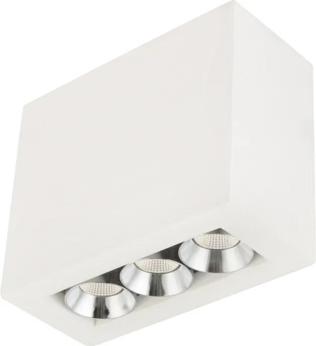 Globo 55010-3A Bodové Svietidlá biely LED - 1 x 6,6W 10 x 12,2 x 5,6 cm