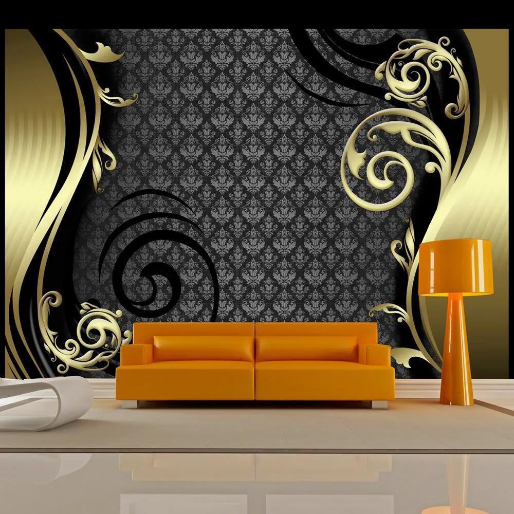 Fototapeta - Golden curtain 400x280