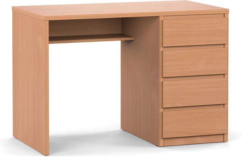 DREVONA Písací stolík pravý buk RP POLO 2
