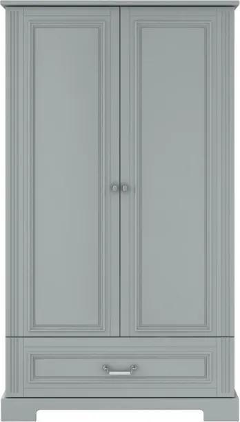Skriňa Ines natural grey 2-dverová