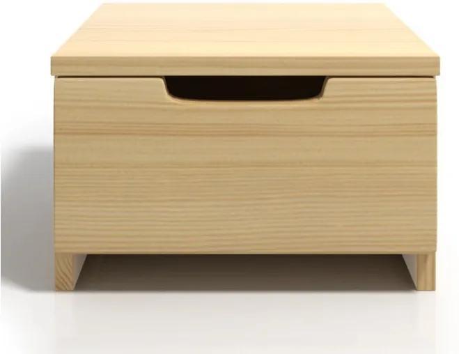 Nočný stolík z borovicového dreva so zásuvkou SKANDICA Spectrum