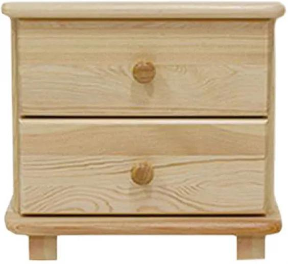 AMI nábytok noční stolek S7 borovice