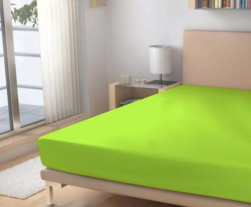 Polášek Plachta froté neonovo zelená 180/200 cm