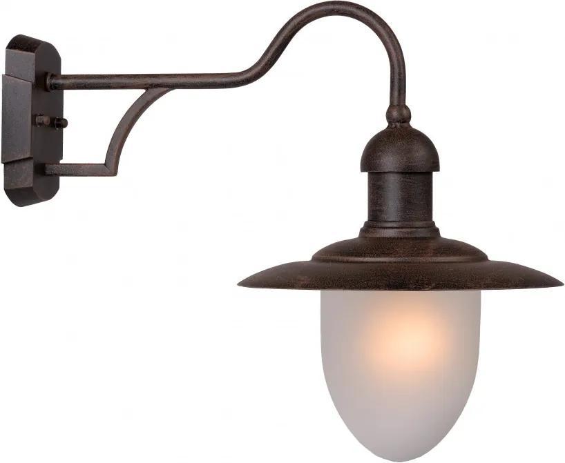 vonkajšie nástenné svietidlo lampa Lucide ARUBA 1x24W E27