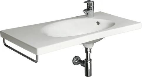 Nábytkové umývadlo Jika Tigo 80x38,5 cm otvor pre batériu vpravo 1221.8.000.106.1