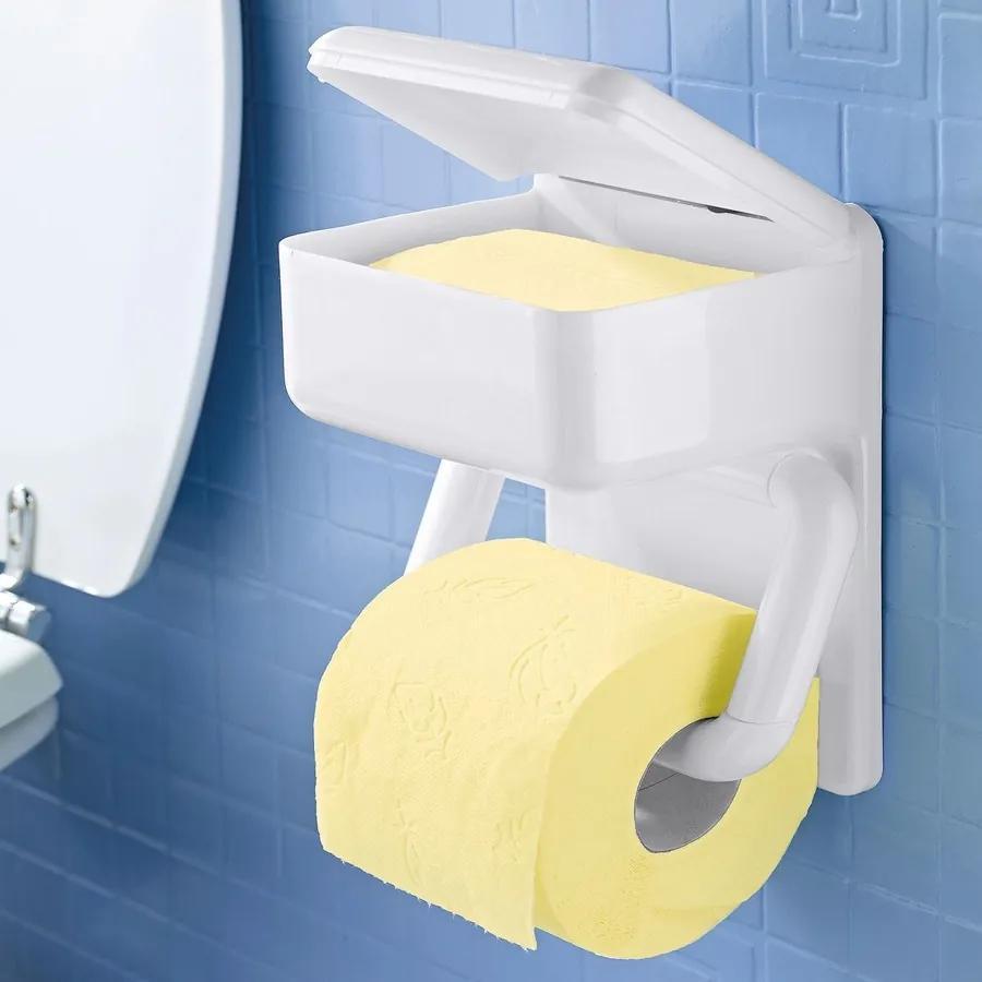 WENKO Zásobník na toaletní papír DUO