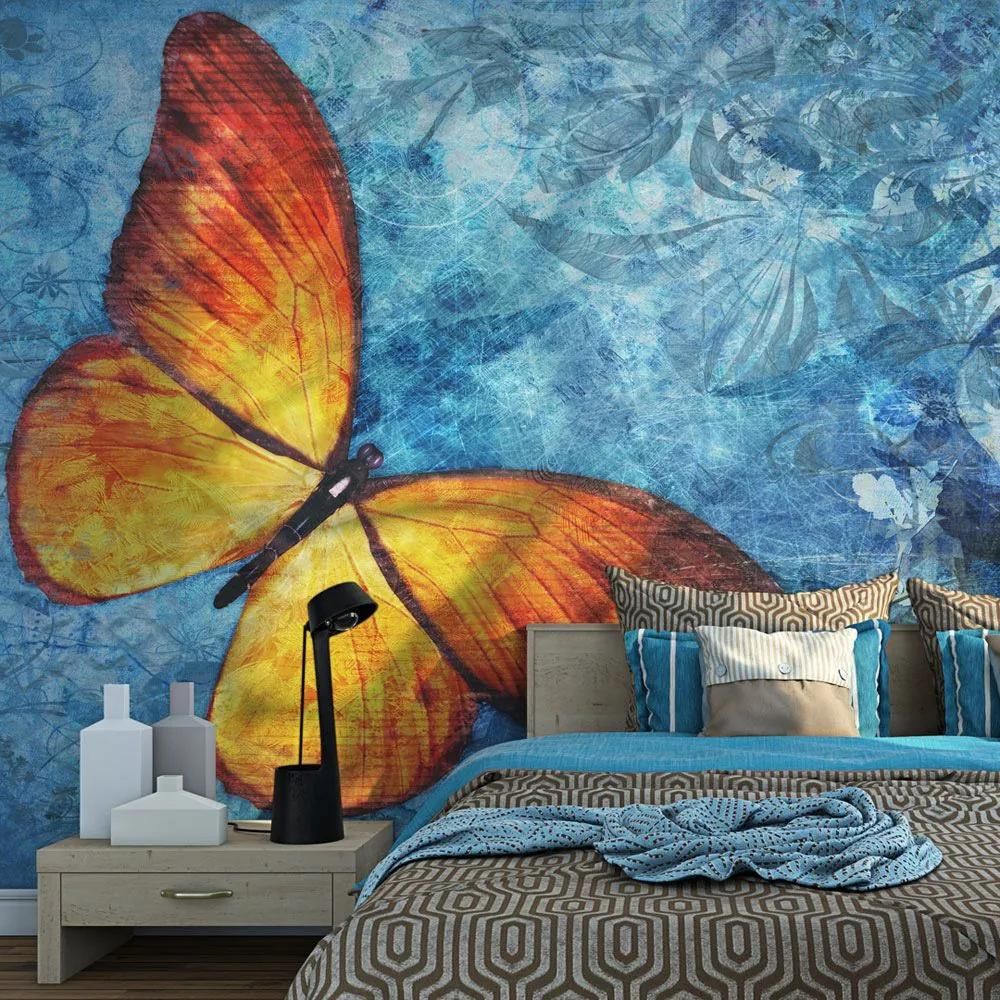 Fototapeta - Fiery butterfly 200x154