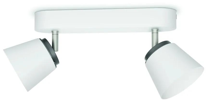 Philips Philips 53342/31/16 - LED bodové svietidlo DENDER 2xLED/4W/230V P1133
