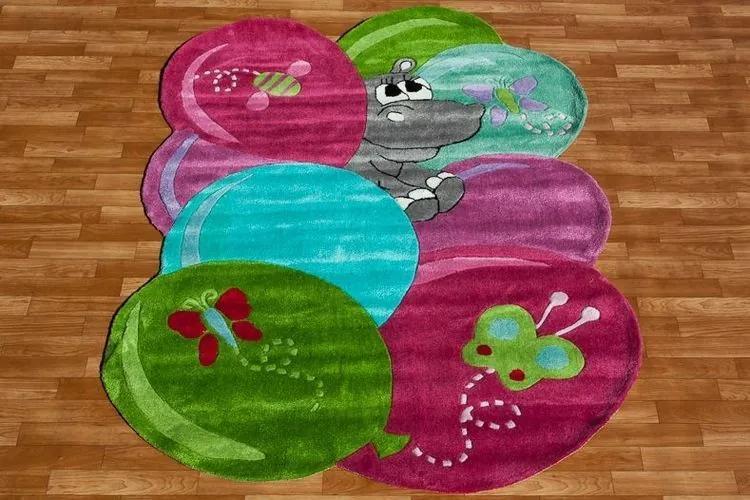 MAXMAX Detský koberec BALONKY (200 x 300 cm)