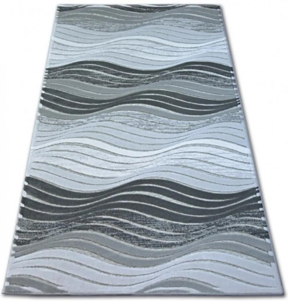 Luxusný kusový koberec Roderik šedý, Velikosti 133x190cm