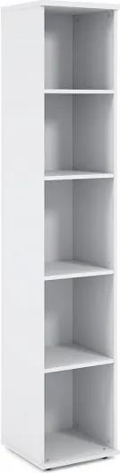Vysoká skriňa Impress 37 x 37 x 190 cm biela