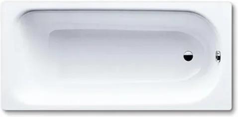 Obdĺžniková vaňa Kaldewei Saniform Plus 160x70 cm smaltovaná oceľ alpská biela 111700010001