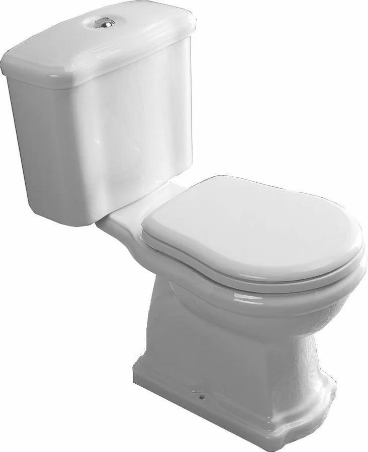 Kerasan Retro WCset02 kombi WC, zadný odpad