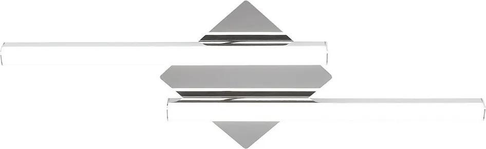 Rábalux Antonia 5895 Nástenné Kúpeľňové Lampy chróm biely LED 24W 73,5 x 26,5 x 7 cm