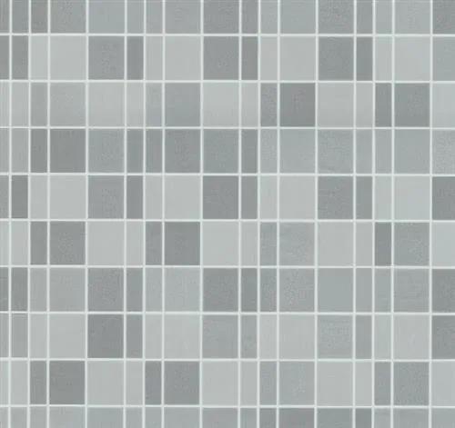 Vliesové tapety, kachličky sivé, Easy Wall 1347550, P+S International, rozmer 10,05 m x 0,53 m