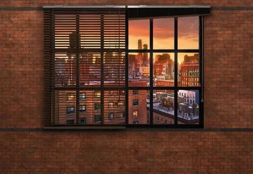 Papierové fototapety Brooklyn Brick, rozmer 368 cm x 254 cm, fototapety KOMAR 8-882