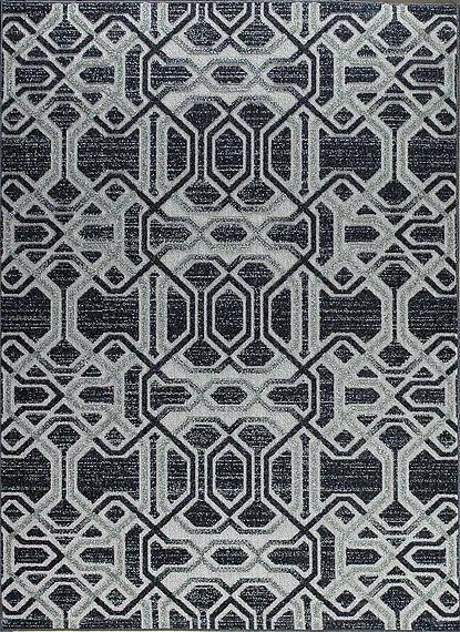 Berfin Dywany Kusový koberec Lagos 1055 D. Silver - 160x220 cm