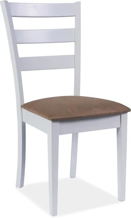 Najlacnejsinabytok CD-86 jedálenská stolička, biela