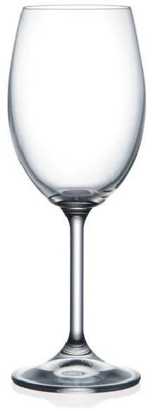 Bohemia Crystal poháre na biele víno Lara 40415/250ml (set po 6 ks)