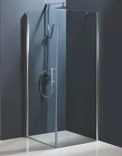 Sprchové dveře HOPA MADEIRA II - Čiré sklo - 90 cm, 195 cm, Univerzální, Hliník chrom, Čiré bezpečnostní sklo - 6 mm (BCMADE290CC)