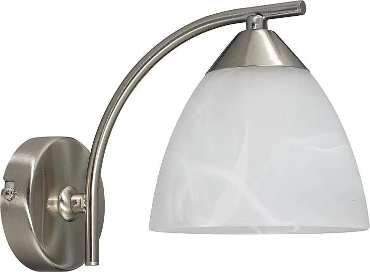 Rábalux Tristan 7201 Nástenné Lampy biely E14 1x MAX 40W Ø135 x 150 mm
