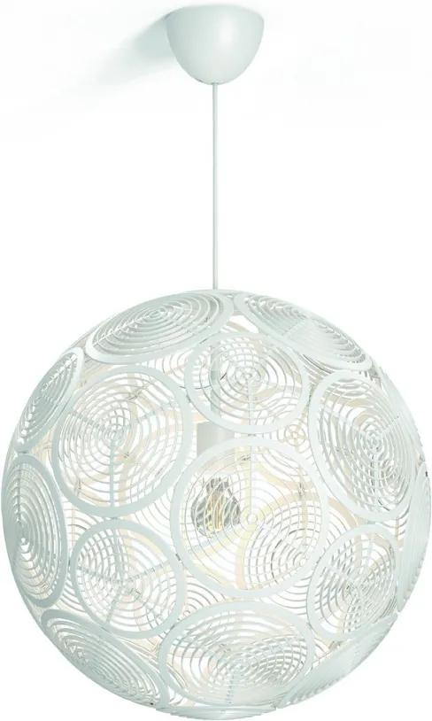 závesné stropné svietidlo Philips Ring E27 60W