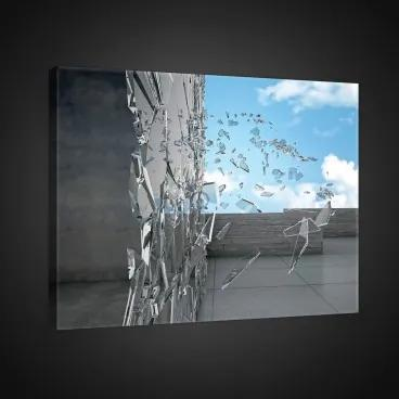 Obraz na plátne obdĺžnik - OB0789 - Sklo 100cm x 75cm - O1