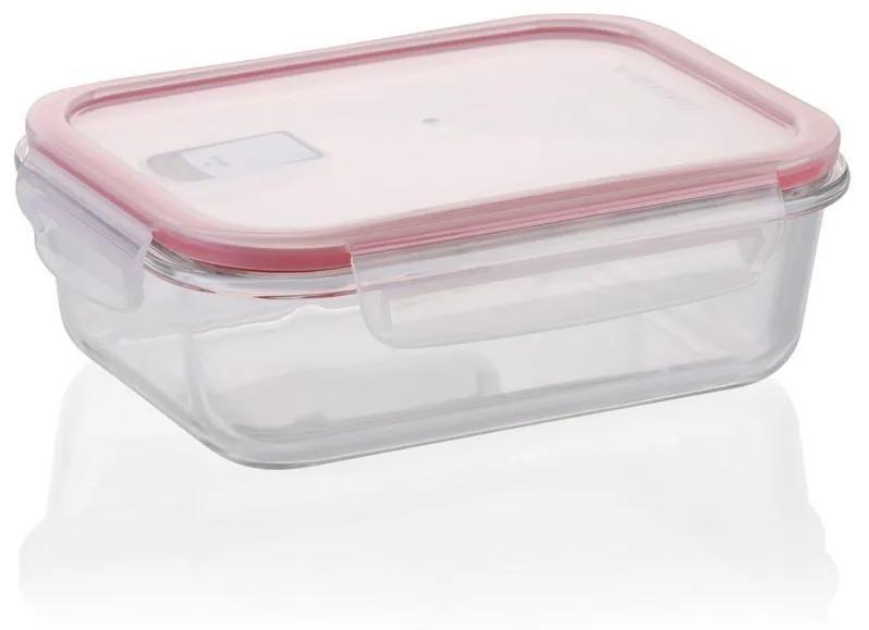 Tescoma FRESHBOX GLASS dóza 1,5 l, obdĺžniková,