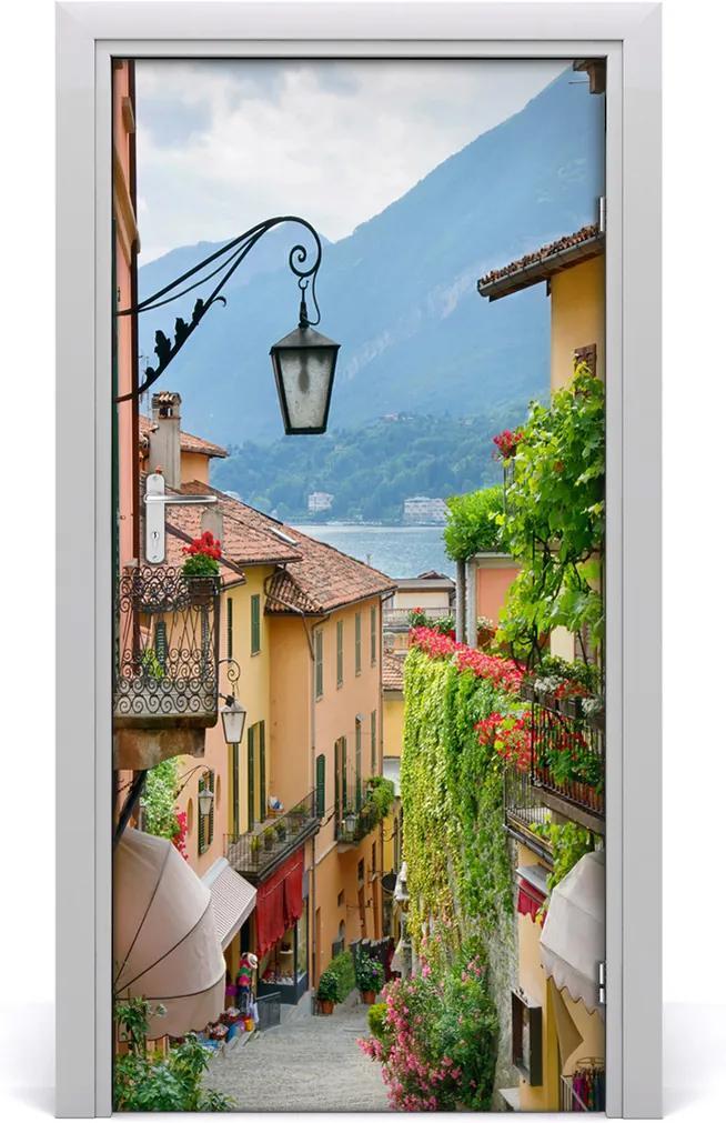 Fototapeta samolepící na dveře Italské uličky
