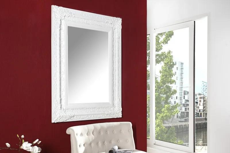 Nástenné zrkadlo Clermont biele