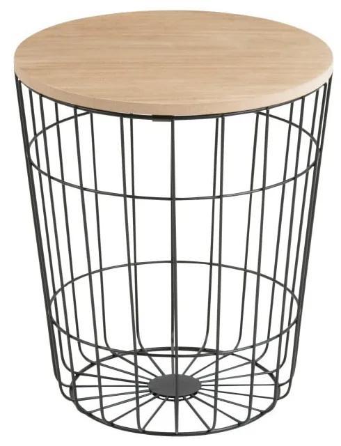 Odkladací stolík Actona Lotus Darko, ø 34 cm