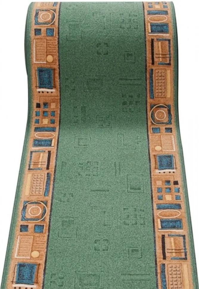 Behúň Zena zelený, Šířky běhounů 100 cm