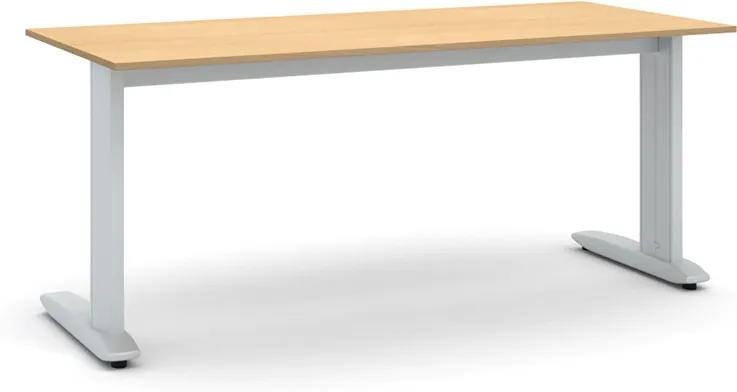 Kancelársky stôl Flexible 1800 x 800 mm, buk
