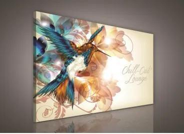 Obraz na plátne obdĺžnik - OB0138 - Vtáčik 100cm x 75cm - O1